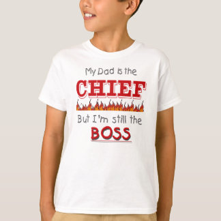 Camiseta O pai é principal - fogo