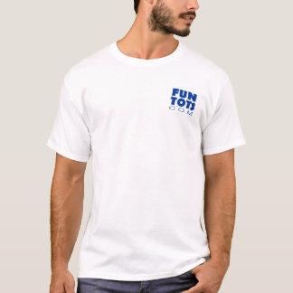 Camiseta O pai possui uma serra de cadeia