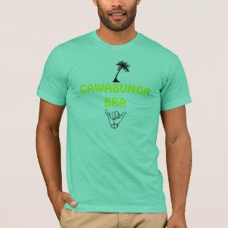 Camiseta o palm_tree, cair afrouxa, SUTIÃ de CAWABUNGA