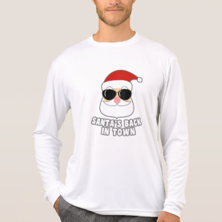 Camiseta O papai noel legal suporta na cidade