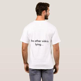 Camiseta O paradoxo do mentiroso