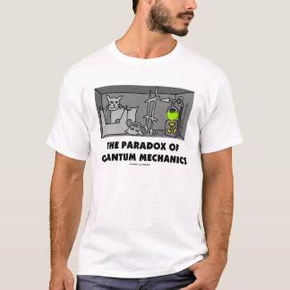 Camiseta O Pardox de mecânicos de quantum (física)
