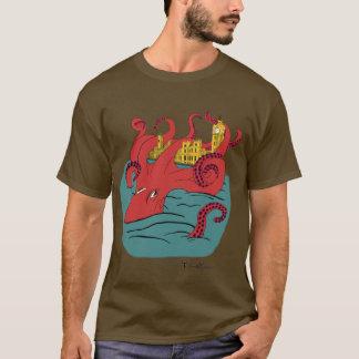 Camiseta O parlamento dos polvo