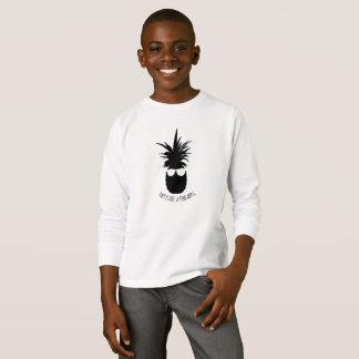 Camiseta O partido gosta de uma camisola da criança da