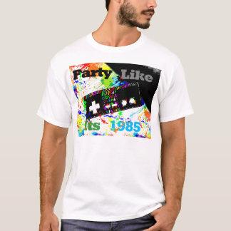Camiseta O partido gosta do seu 1985