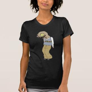 Camiseta O pássaro do nerd é a palavra