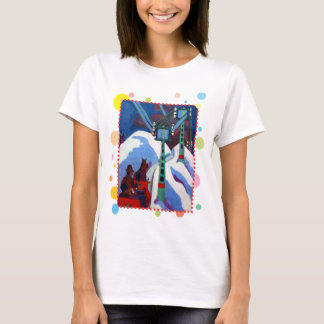 Camiseta O passeio do trenó por Ernst Ludwig Kirchner