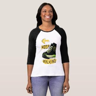 Camiseta O passeio Keep buen o t-shirt das mulheres do