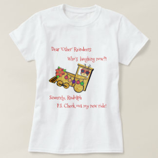 Camiseta O passeio novo de Rudolph!