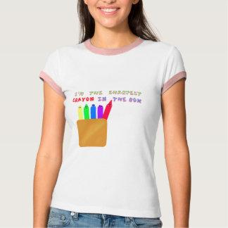 Camiseta o pastel o mais afiado na caixa