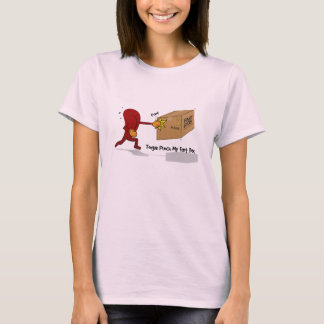 Camiseta O perfurador da língua meu Fart a caixa (com