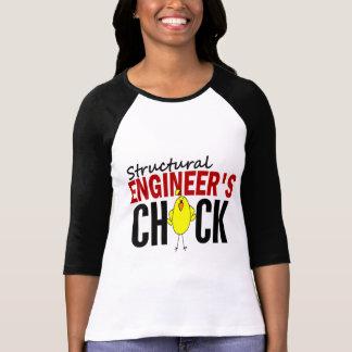 Camiseta O pintinho de engenheiro estrutural