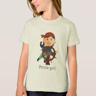 Camiseta O pirata à moda dos desenhos animados do t-shirt