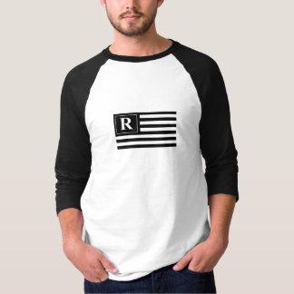 Camiseta O planeta Revels o jérsei de basebol