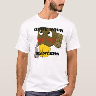 Camiseta o platymaster, OBEDECE SEU MESTRADO, PLATYPUS
