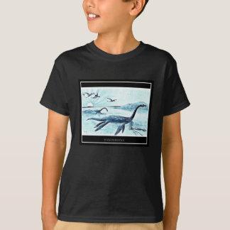 Camiseta O Plesiosaurus caçoa o t-shirt - obscuridade (o