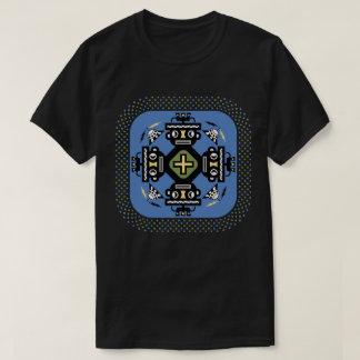 Camiseta O poder de robôs positivos