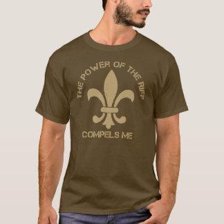 Camiseta O poder do riff obriga-me