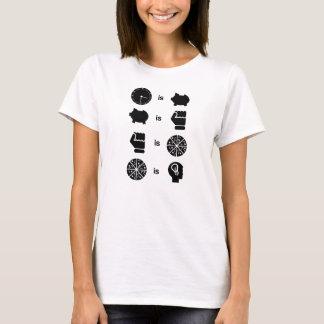 Camiseta O poder é pizza