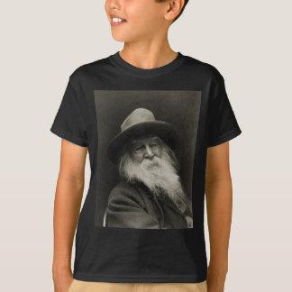 Camiseta O poeta de riso Walt Whitman do filósofo