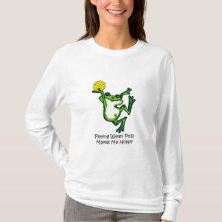 Camiseta O pólo aquático faz-me Hoppy