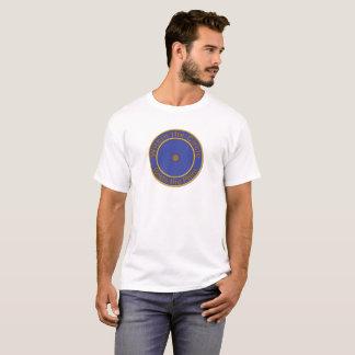 Camiseta O ponto dentro de um círculo