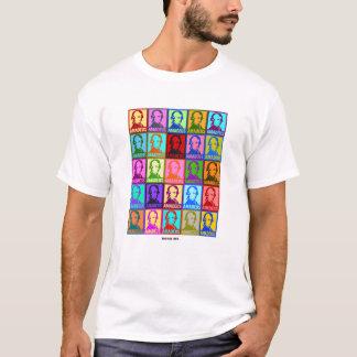 Camiseta O pop art Wolfgang Amadeus Mozart | balança-me
