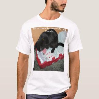 Camiseta O póquer seria mais fácil se eu tive t…