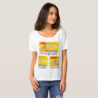 Camiseta O por do sol louco Dreamin da vida