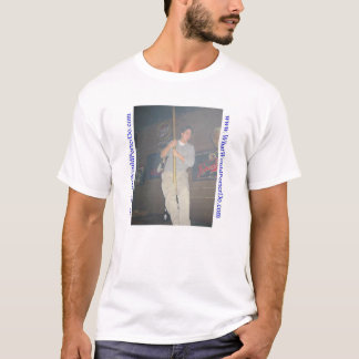 Camiseta O porteiro dançaria em um pólo