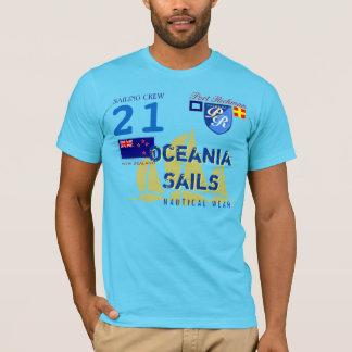 Camiseta O porto Richman Oceania navega Nova Zelândia