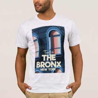 Camiseta O poster de viagens da Nova Iorque de Bronx