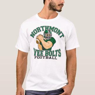 Camiseta O pouquinho de Northmont aparafusa o futebol