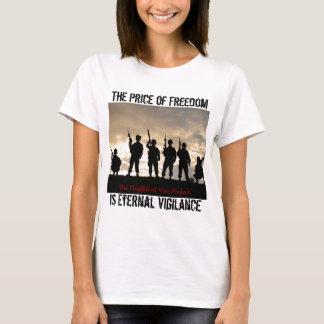 Camiseta O preço da liberdade
