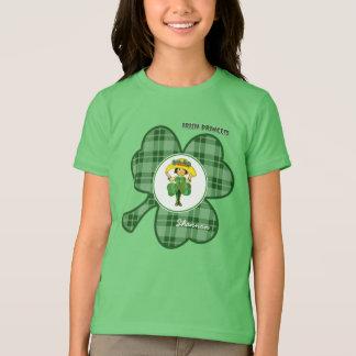Camiseta O presente do dia da princesa St Patrick irlandês