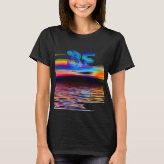 Camiseta O presente do Mindfulness APENAS SEJA paisagem do