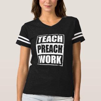 Camiseta O presente do missionário ensina Preach o trabalho