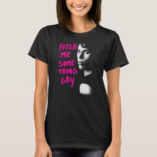 Camiseta O preto órfão | busca-me algo alegre