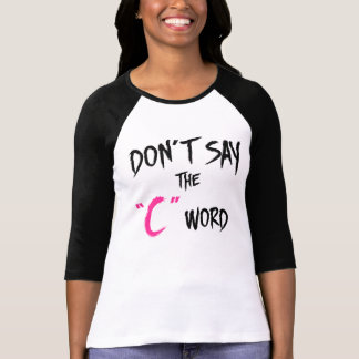 Camiseta O preto órfão | não diz a C-Palavra