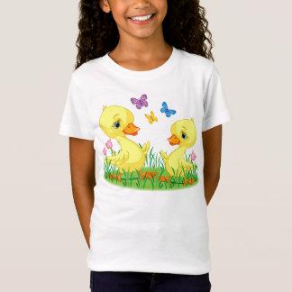 Camiseta O primavera Ducks o t-shirt para miúdos
