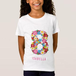 Camiseta O primavera floresce festa de aniversário do