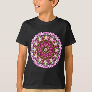 Camiseta O primavera floresce, pica, Flor-Mandala, natureza