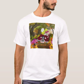 Camiseta O primavera traz a alegria ao esporte do tênis