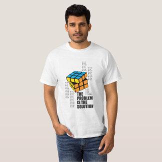 Camiseta O problema é a solução