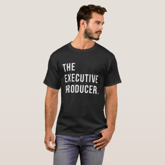 Camiseta O produtor executivo. T-shirt