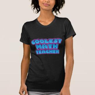 Camiseta o professor de matemática o mais fresco