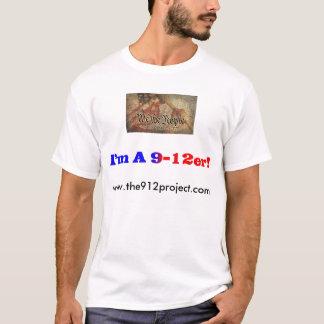 """Camiseta O projeto 9-12 e """"eu somos um 9-12er! """""""