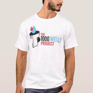 Camiseta O projeto de 1000 poços