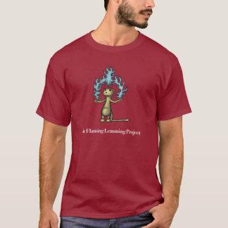 Camiseta O projeto flamejante do Lemming
