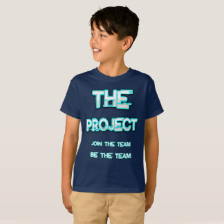Camiseta O projeto (Merch oficial)